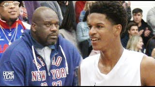 Shareef O'Neal Starts PLAYOFFS With A Win! SHAQ In The Building