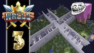 THE WALLS #3 - MINECRAFT PVP MINIPELI - Tiimin Tuho!