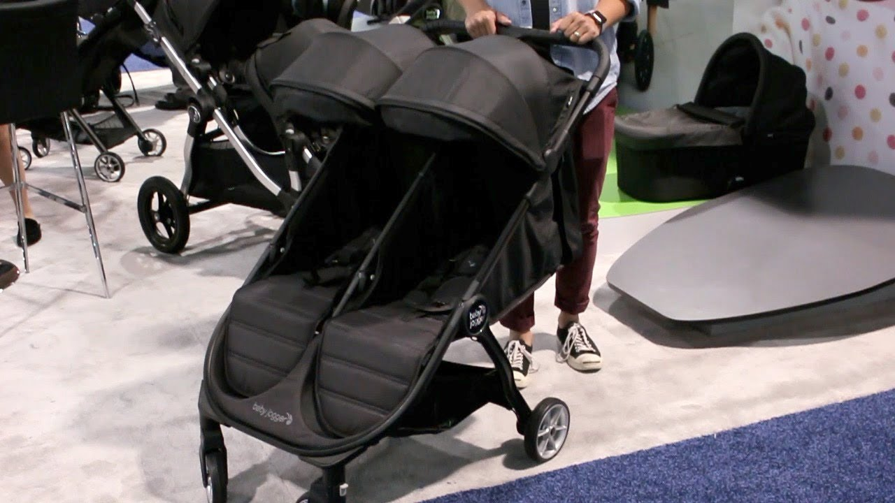 Baby Jogger City Tour 2 Double Stroller Demo Review First Look At Abc Kids Expo 2018