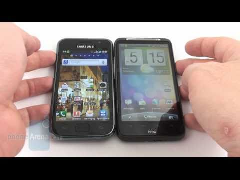 HTC Desire HD vs Samsung Galaxy S