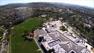 GoPro sky view of Ladera Ranch, Orange County, California