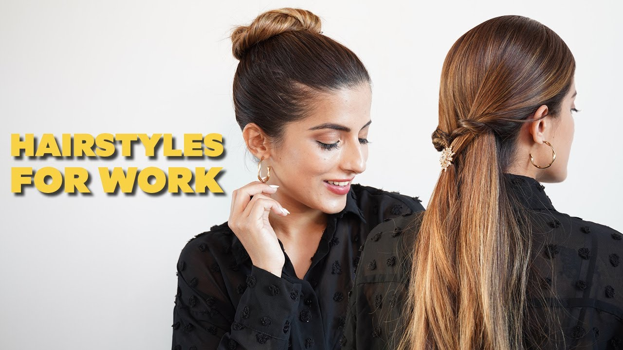 Quick & Easy Hairstyles | Hairstyles For Work | Hair Tutorial | BeBeautiful