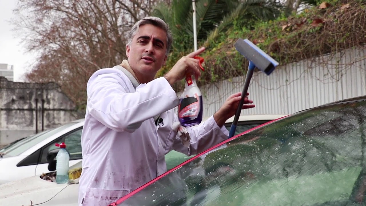 C mo limpiar los vidrios del auto informe mat as - Como limpiar los vidrios ...