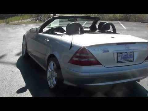 FOR SALE 2004 MERCEDES BENZ KOMPRESSOR SLK 230 SPECIAL EDITION STK# P6066 www.lcford.com