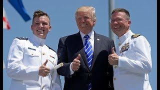 LIVE- President Donald Trump Speaks at the U.S. Coast Guard Change-of-Command Ceremony