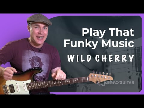 Play That Funky Music - Wild Cherry - Funk Guitar Lesson Tutorial (ST-366)