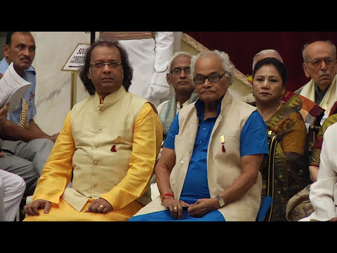 President presents Sangeet Natak Akademi Fellowships and Awards - 23-10-2014