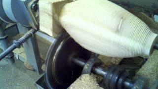 Vincenti Decoys: Lathe Turning Cedar Mallard Boides...