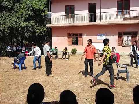 Kurchidaud Game - Male  (Final round) in Panini Campus-पाणीनी क्याम्पसमा कुर्चीदौड-खेल