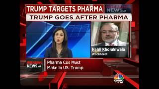 TRUMP TARGETS PHARMA. 'Pharma Cos Must Make In US'