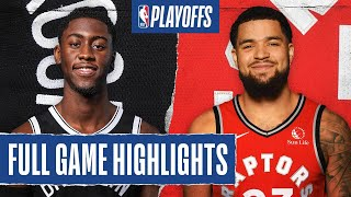 NETS at RAPTORS | FULL GAME HIGHLIGHTS | August 19, 2020