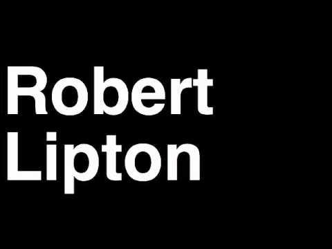 How to Pronounce Robert Lipton State Senator The Office TV Show US NBC Bloopers