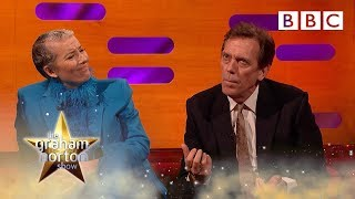 When Hugh Laurie was told to throw poo at a lion! | The Graham Norton Show - BBC YouTube Videos
