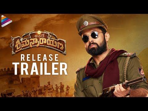 Athade Srimannarayana Release Trailer (Telugu)   Rakshit Shetty   Pushkar Films   Shanvi