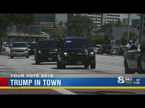 Security tight for Trump's Tampa fundraiser