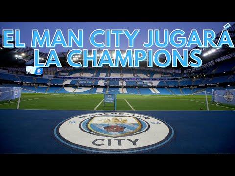 EL MANCHESTER CITY JUGARÁ LA CHAMPIONS LEAGUE