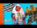 Worlds First Biggest Transformer Surprise Egg Blind Box Funko Pop by HobbyKidsTV