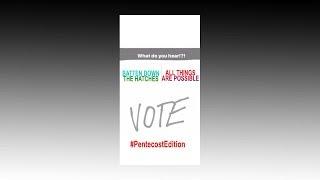 Yanny Laurel Vote Pentecost Edition Monday's Muse Season 3 Episode 45