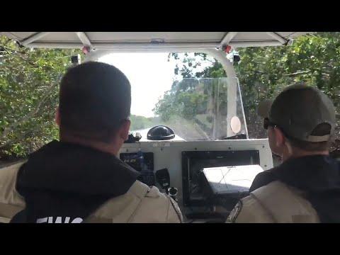 florida-fwc-officers-patrol-keys-during-lobster-miniseason