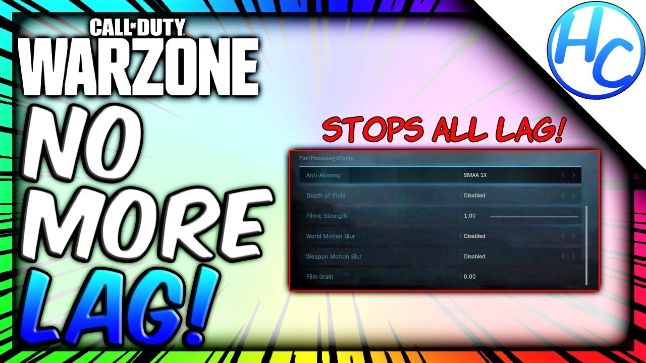 Warzone How To Fix Lag No Stuttering Or Fps Drops Warzone Fps Fix Youtube