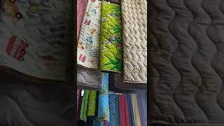 Видео Новинки. Рынок Дордой. Бишкек. Покрывала, одеяла, полотенца.