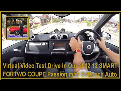 Virtual Video Test Drive In Our 2012 12 SMART FORTWO COUPE P