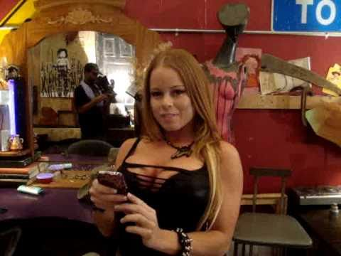 Treats and Threads Calendar shoot with Adult Star Nikki Delano