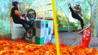 THE FLOOR IS LAVA #2 (Trottinette vs Vélo ft.Warneup)