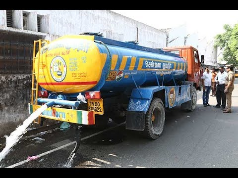 How to book water tanker in online in Chennai metro water.
