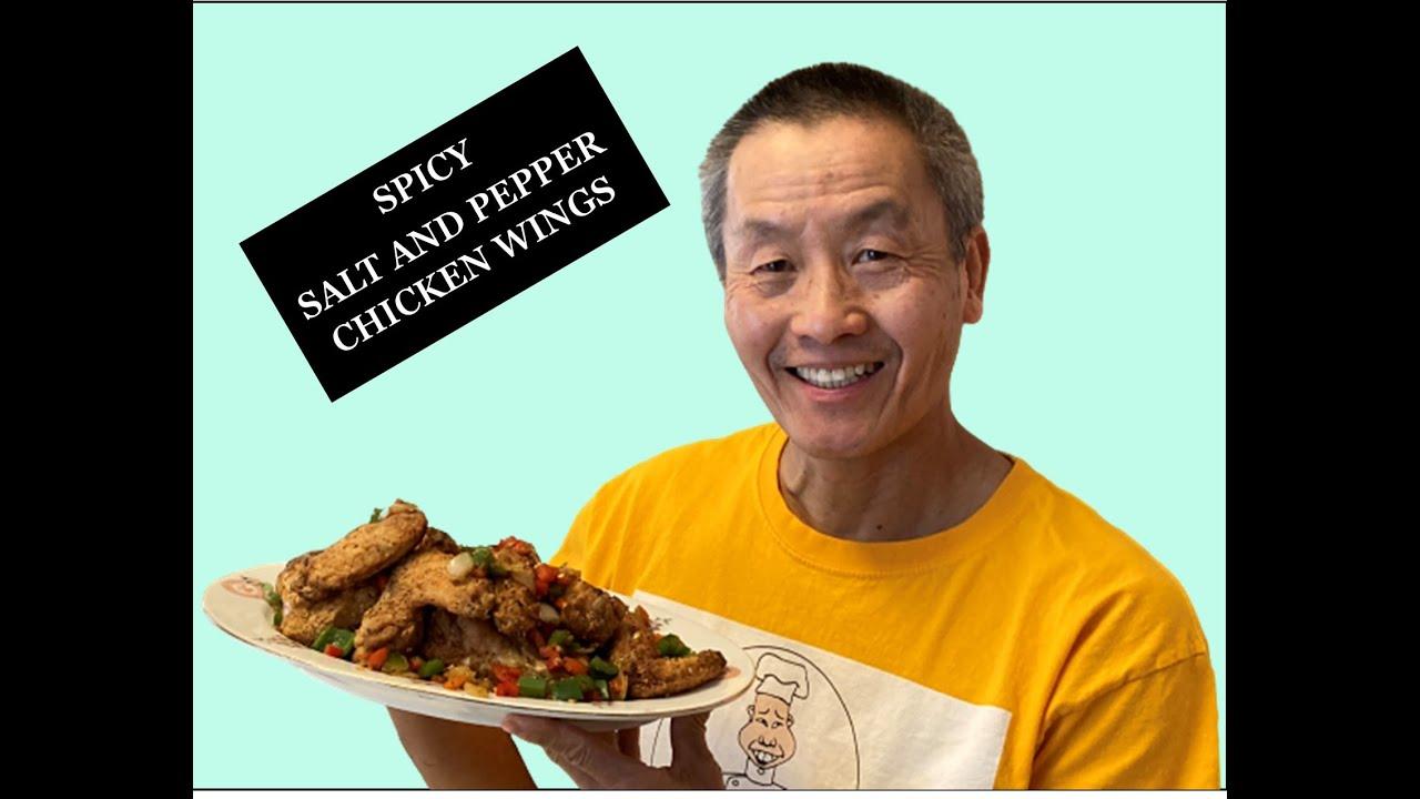 SPICY SALT AND PEPPER CHICKEN WINGS- Lockdown cooking series video #40