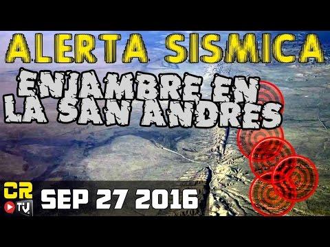 REPORTE SOLAR Y SISMICO  ENJAMBRE EN LA SAN ANDRES 2016 (09 27 2016)