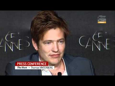 The Hunt Press Conference with Mads Mikkelsen and Thomas Vinterberg - Better Quality!