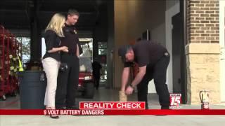 Dangers of 9-Volt Batteries