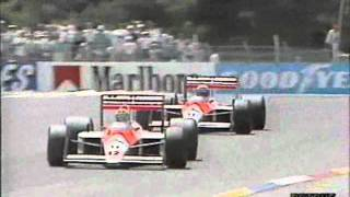 Senna vs Prost - 1988 French Grand Prix