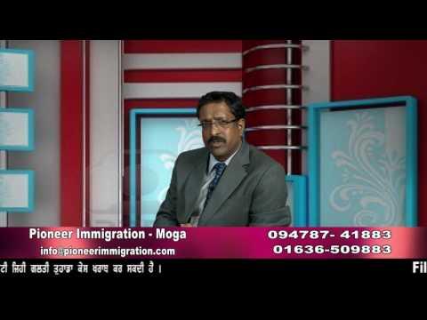 Pioneer Immigration Dr. RAVI GARG ICCRC member ZEE Desh Videsh TV show