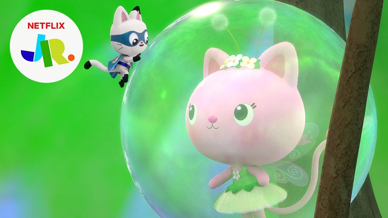 Download Dollhouse Defenders Save Kitty Fairy 🦸♀️ Gabby's Dollhouse | Netflix Jr