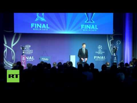 Germany: Berlin welcomes Champions League trophy