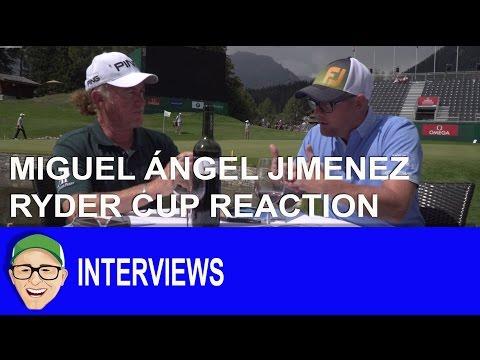 Miguel Ángel Jiménez Ryder Cup Reaction