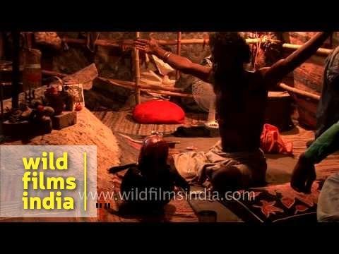 Aghori baba performing black magic - Haridwar