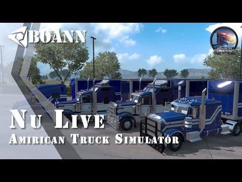 American Truck Simulator : #multieplay (G27)