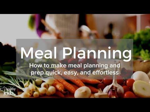 Meal Planning Webinar - Healthy Kids Inc