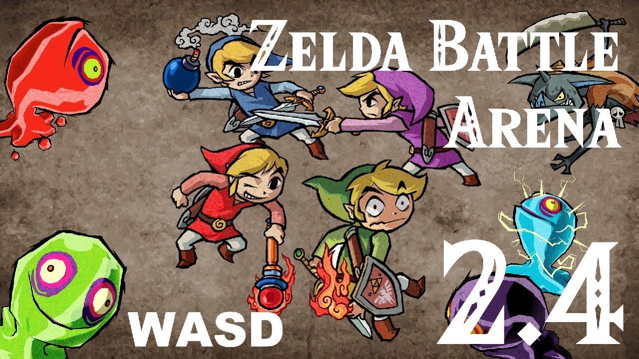 Zelda Battle Arena 2 5 1! [Multiplayer] [Co-op PVE] Minecraft Project