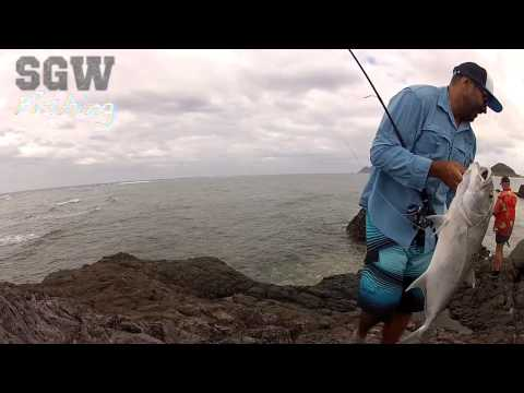 SGW Fishing Fiji Part 1 -  Land based fishing