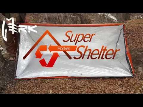 Pocket Super Shelter Setup And Features