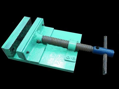 Make A Metal Mini Drill Vise (DIY HomeMade Tool )