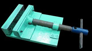 Make A Metal Mini Drill Vise (DIY HomeMade Tool )