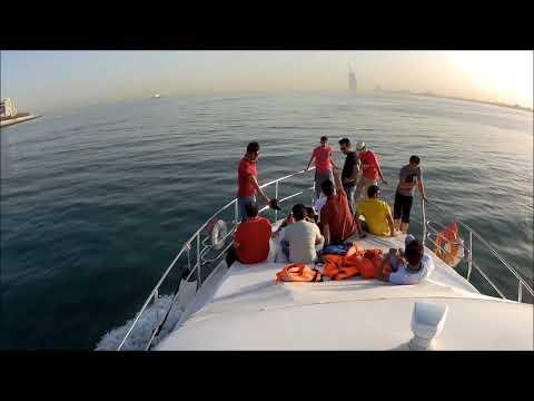 Dubai Marina Luxury Yacht Trip