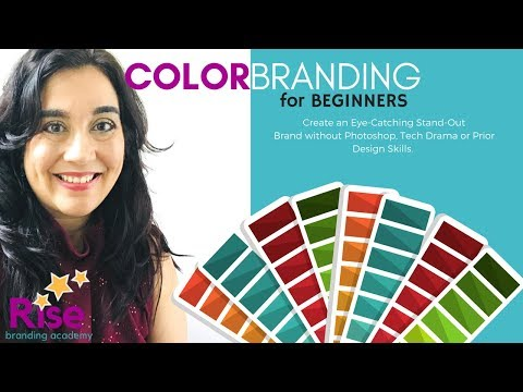 Personal Branding for Beginners | Create a STAND-OUT COLOR PALETTE For Your BRAND