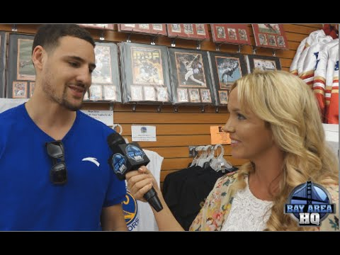 Interview! Klay Thompson Welcomes Warriors 1st Round Pick Kevon Looney!!