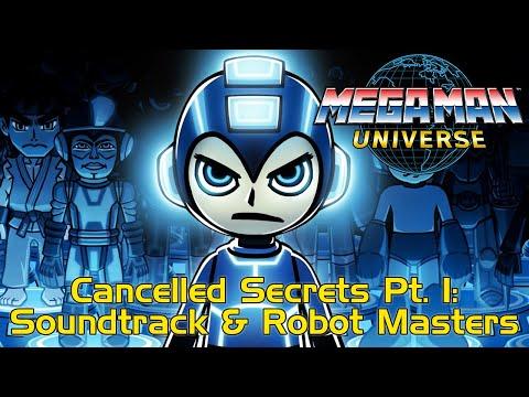 Cancelled Mega Man Universe Secrets Pt 1: Unreleased Soundtrack & Robot Master Designs + More News! - 동영상